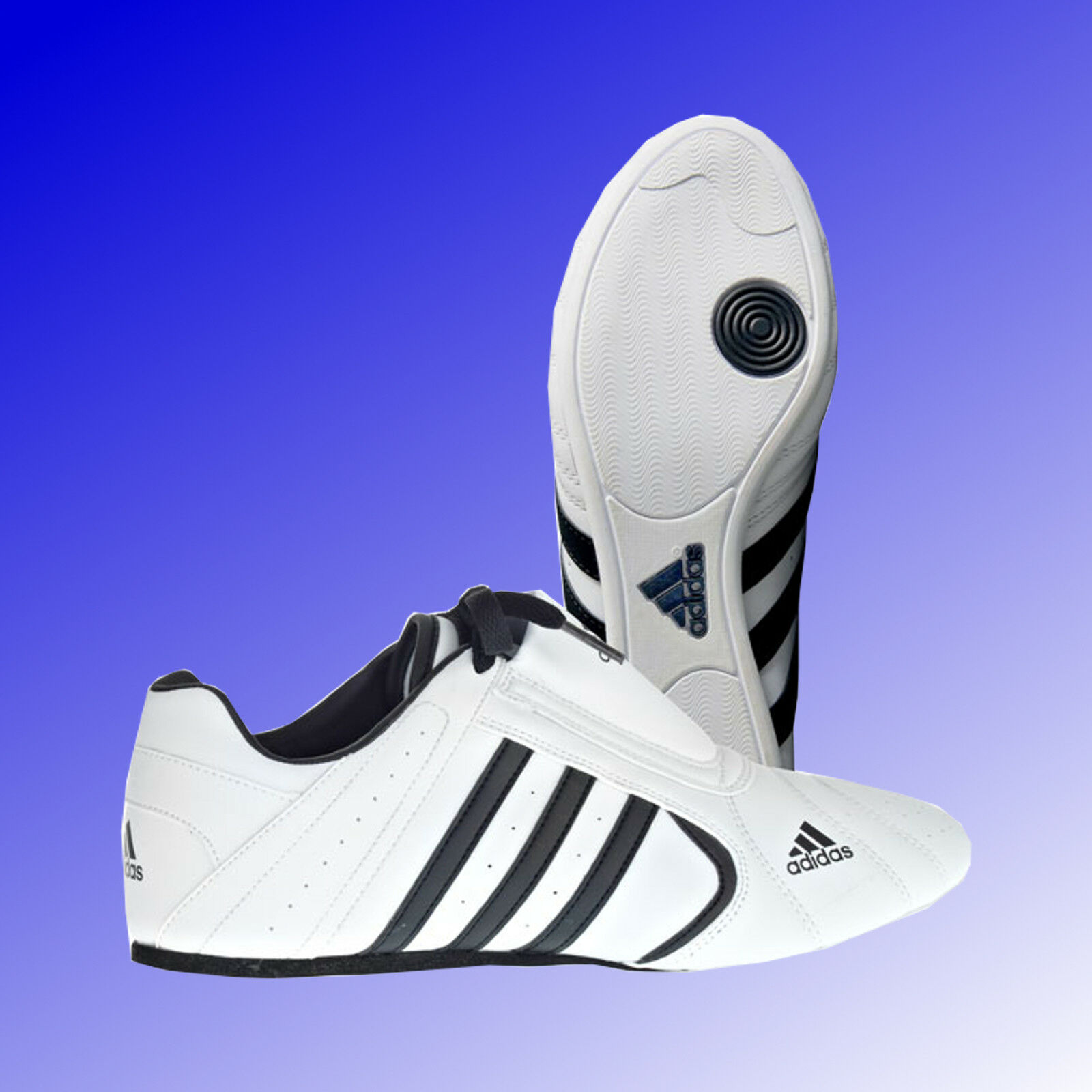 Adidas® SM III Taekwondo TKD Kampfsport Schuhe Sneaker Slipper weiß 38 - 47