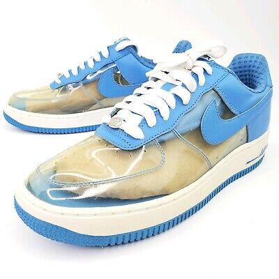 Nike Air Force 1 Premium Clear Blue Fantastic 4 Invisible Woman 313641 941 8.5 884802797753   eBay