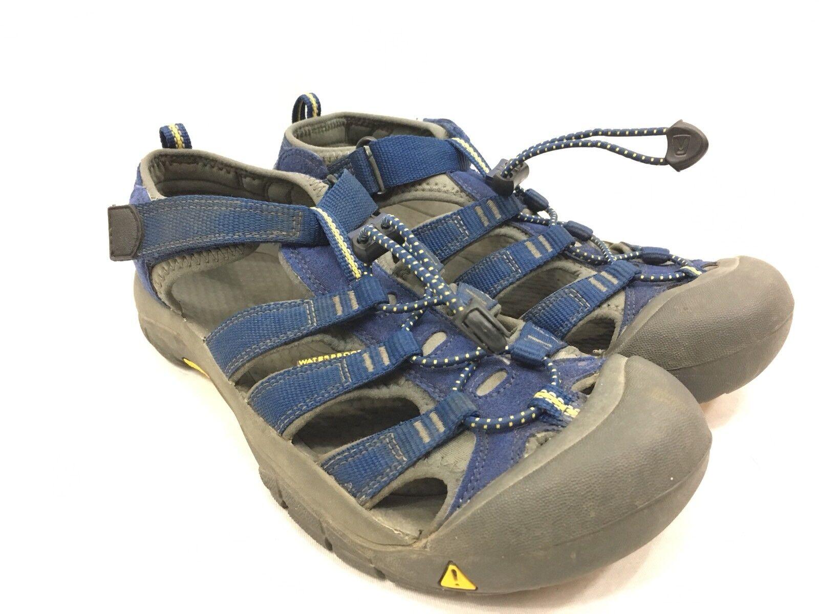 Keen Newport Sport Sport Sport Sandals Mens 6 Womens 7.5 bluee Waterproof Hiking 8e35e0