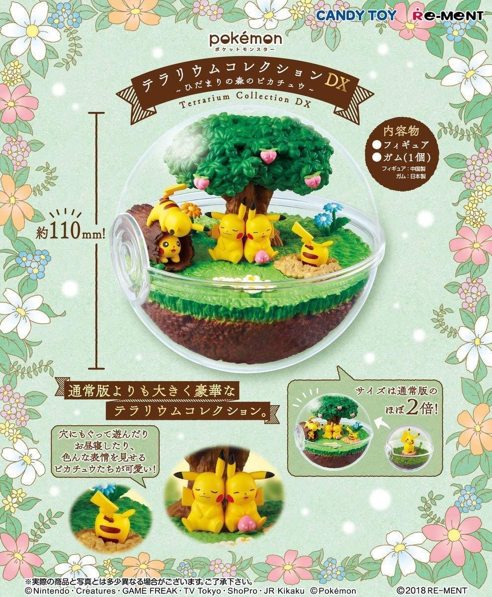 Pre-Sale Re-Ment Pokemon Terrarium Collection DX Pikachu in Sunny Forest Japan
