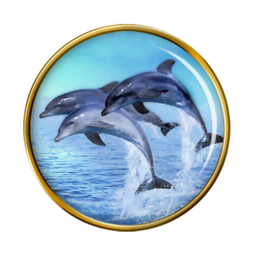 Dolphins Lapel Pin Badge