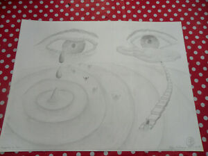 Bleistiftzeichnung-von-Stefan-Buhmann-40-x-30-cm-Sammler