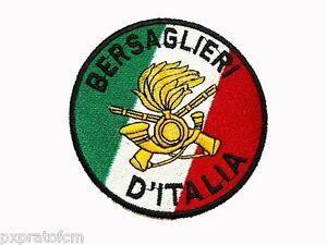 Caricamento dell immagine in corso Patch-Bersaglieri-d-039-Italia-con- Tricolore-Esercito- 80a8d4f11ce7