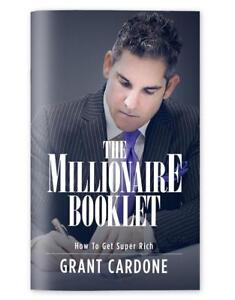Grant-Cardone-The-Millionaire-Booklet-Brand-New-Same-Day-Shipping