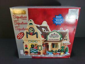 Lemax Village Patty's Home & Garden Shop 35533 2013 Christmas Collection