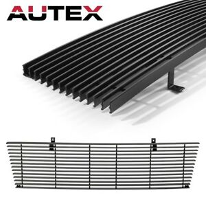 6c6374b24ae74 Details about Main Upper Billet Grille Black Horizontal Front Grill for  98-00 Toyota Tacoma