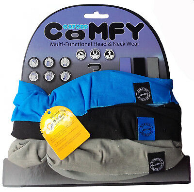 Camo 3 Pack Oxford Comfy Multi-functional Head /& Neck Wear