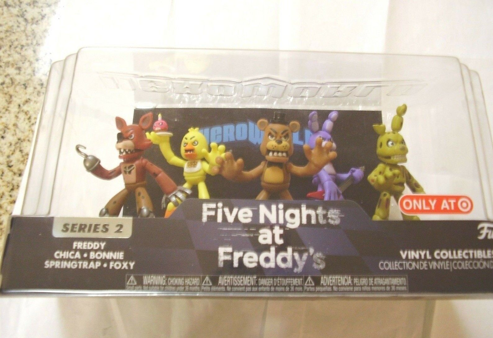 Funko Hero World FIVE NIGHTS AT FREDDY'S Series 2- NEW