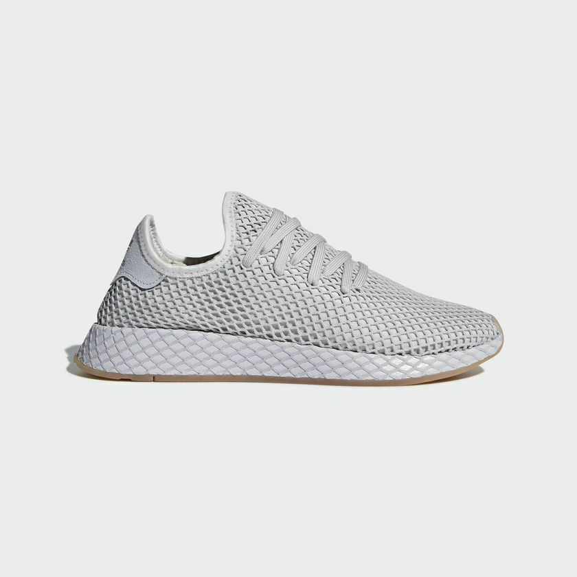 981bb9c3a Adidas Originals Deerupt Runner Grey Gum Mens Lifestyle Sneaker CQ2628