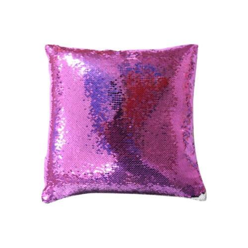 Sublimation Blank Reversible Mermaid Pillowcase Sequin Cushion Cover Glitter DIY