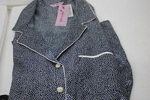 Marks-amp-Spencer-Women-039-s-Per-Una-Sleepwear-Pajama-T37-6157-Navy-White-Size-20-NWT