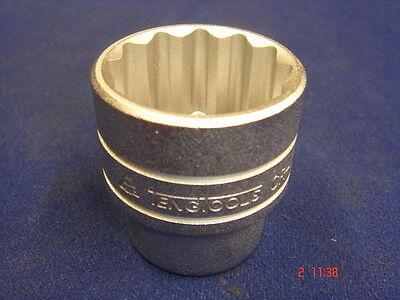 "Teng Tools 1/2"" Shallow / Regular Socket 30mm 12 Point M120530C"