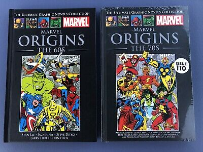 Marvel Ultimate Graphic Novel Collection Classic - Origins The 60's & 70's    eBay
