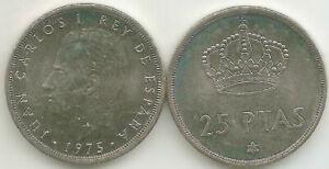 ESPANA-Juan-Carlos-I-25-pesetas-1975-76-KM-808-S-C-UNC