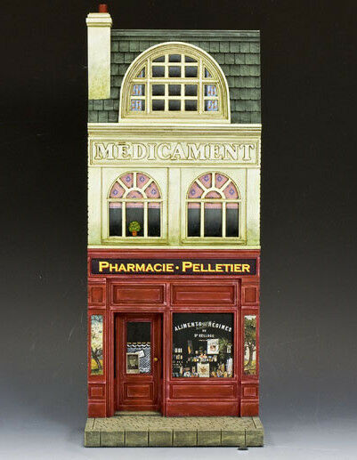 King & Country SP50 - French Pharmacie House Facade