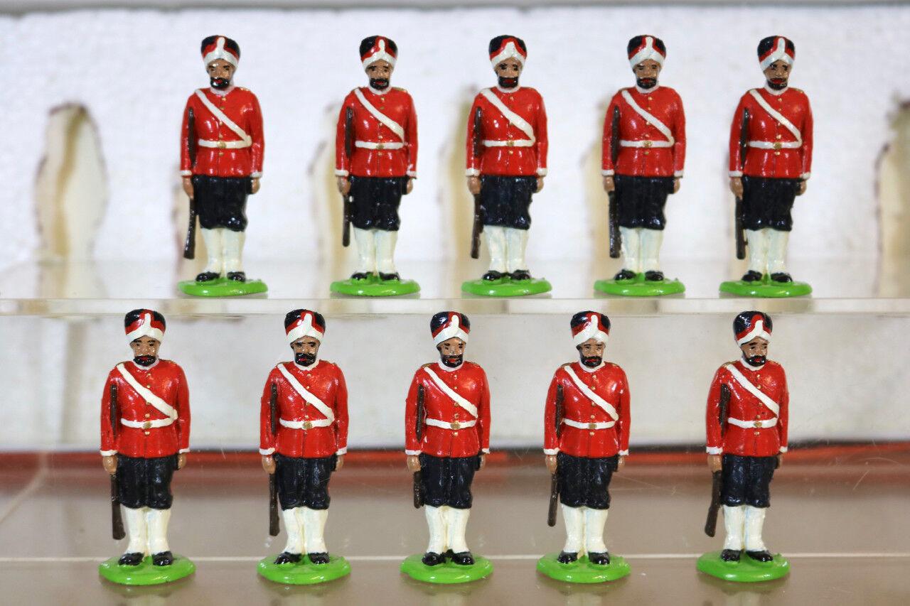 Little Wars 470 Britisch Krieg in Indien 1st Madras Infanterie auf Attention Nj