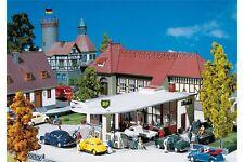 Faller 130347 HO 1/87 Station-service BP