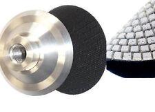 "5 Inch Aluminum Backer Pad 5"" Diamond Polishing Pad Grit 30 concrete granite"