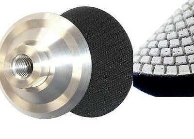 """2 Pieces 7/"""" Back Holder//Backer Pads for Diamond Polishing Pads 5//8/""""-11 Thread"""