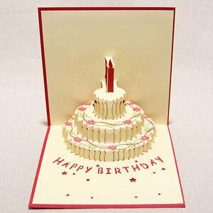 3D-Greeting-Card-Handmade-Happy-Birthday-Valentine-039-s-Thank-You-13-16cm