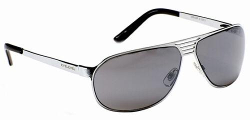 Mens Classic Vintage Metal Designer Sunglasses Retro Pilot Silver Gun Chrome