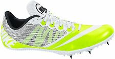 NIKE ZOOM RIVAL S 7 TRACK SPIKES/CLEATS (VOLT/WHITE) - 616313-702 - NEW! SIZE 12