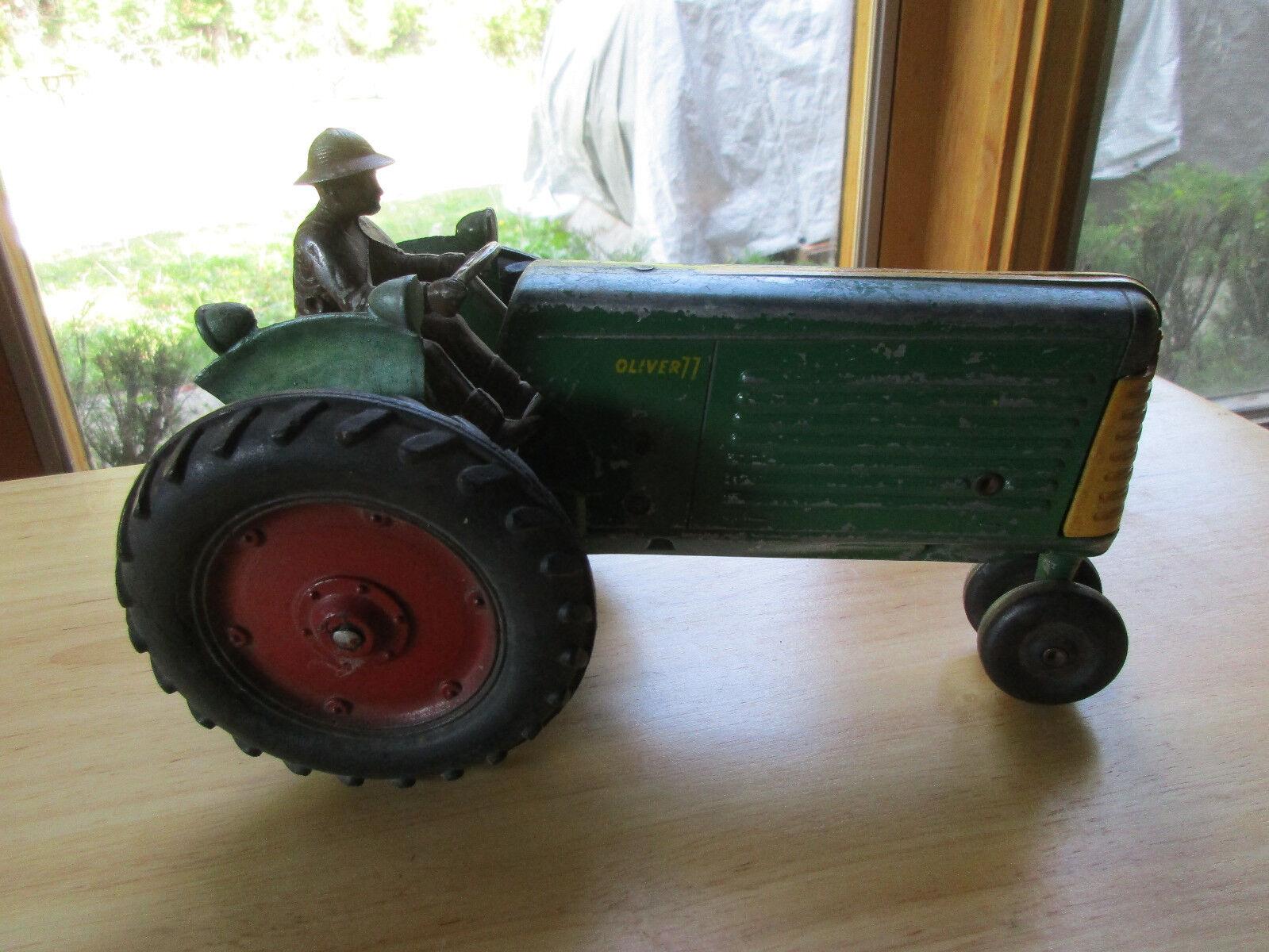 Oliver 77 giocattolo Tractor, Cast with Rider, Nizza
