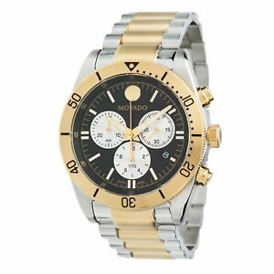 Movado 0607441 Men's Movado Sport Two-tone Quartz Watch