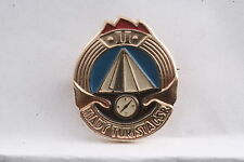 Czechoslovakia Youth Young Tourist Class 2 II Tourism Badge Medal Pioneer Pin
