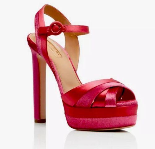 AQUAZURRA Coquette 38.5 Platform Sandals
