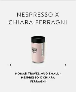 Chiara Ferragni x Nespresso Limited Edition Travel Mug Small