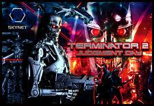 Terminator 2 Pinball Alternate Translite