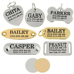 Pet-ID-Name-Personalised-Dog-Tag-Custom-Engraved-Cat-Tags-Stainless-Steel-S-M-L