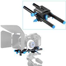 "Neewer 9.8"" 15mm Rail Rod Support System High Riser DSLR Camera Mount Baseplate"