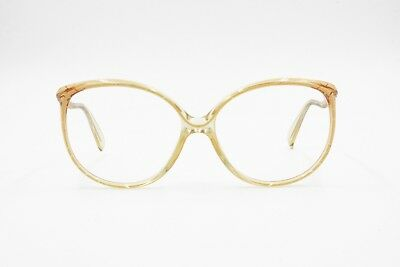 Nuova Moda Rodenstock Nos Lady Line 3041 Oversize Frame Eyeglasses Womens Cream Flaked Ampie Varietà