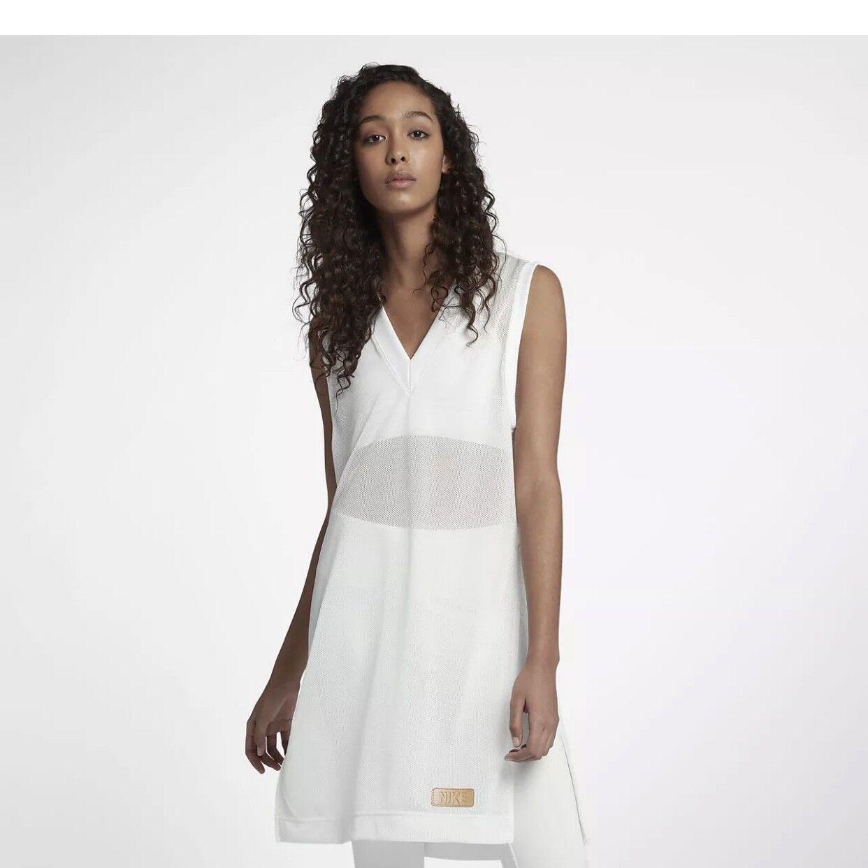 Nike Schön + Mächtig Sportkleidung Damen Kleid Netz Größe XL