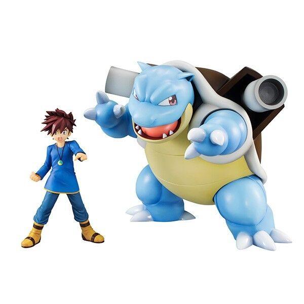 Pokemon - G.E.M.Series Gary Oak & Blastoise