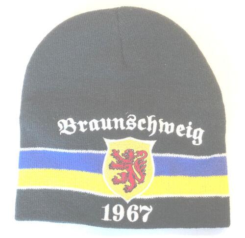 Strickmütze Braunschweig 1967 Wappen Mütze Beanie Cap Wollmütze Winter