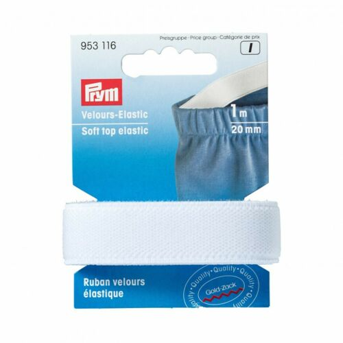 Prym Soft Top Elastic Tape White