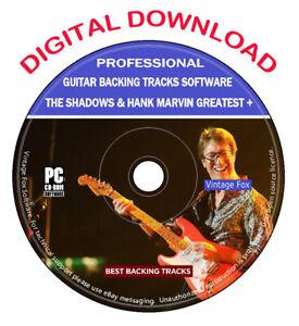 The-Shadows-amp-Hank-Marvin-Guitar-Backing-Tracks-155-Songs-MP3-Software-Digital