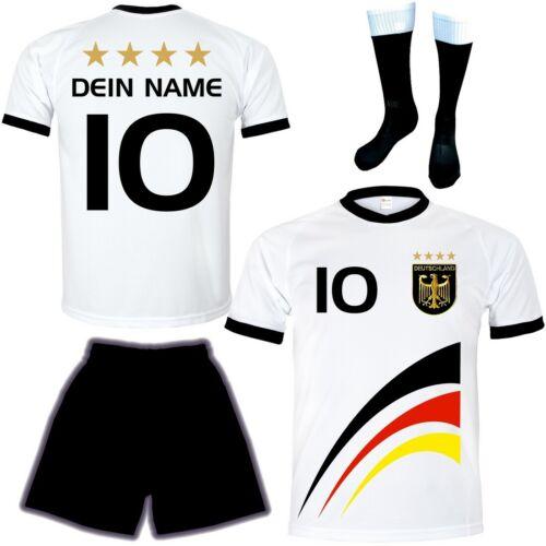 WM Fußball Trikot Wunsch Name #/<-Freifeld Weihnachtsgeschenke Für Kinder Set