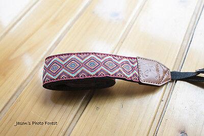 Handmade Vintage Rose camera strap Neck strap for DSLR Camera