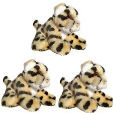 Pack of 3 Cheetah 13cm Soft Toys - Safari Soft Toy Animals