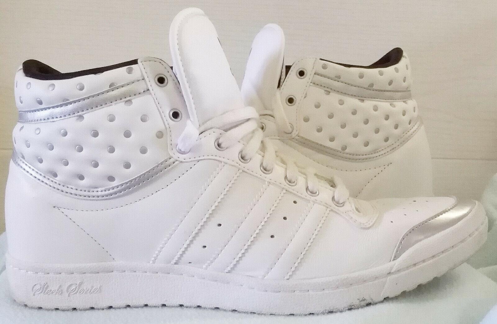 Superschöne Turnschuhe Adidas Sleek Series in weiß, UK8, US9 1 2, DE 41