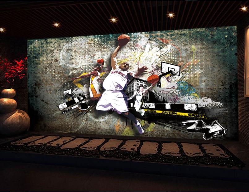 3D Basketball Star 83 Tapete Wandgemälde Tapete Tapeten Bild Familie DE  | Spezielle Funktion  | Perfekt In Verarbeitung  | Ab dem neuesten Modell