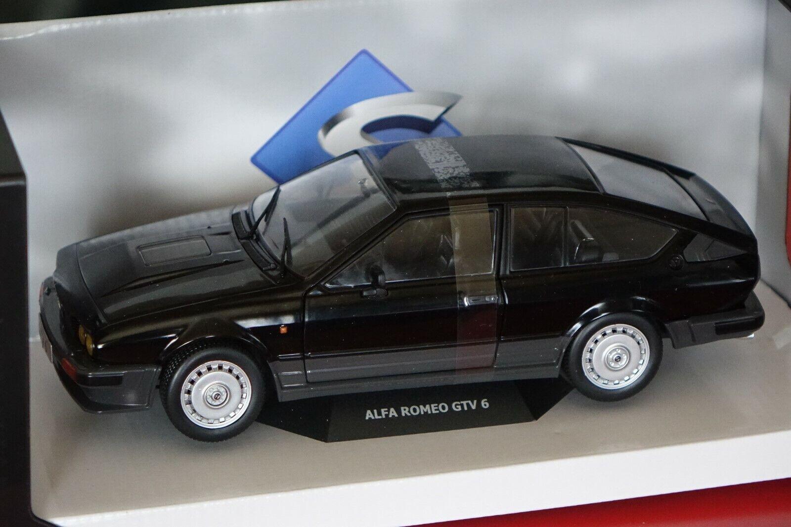 ALFA ROMEO GTV 6 NERO 1 18 solido 1802302 NUOVO & OVP