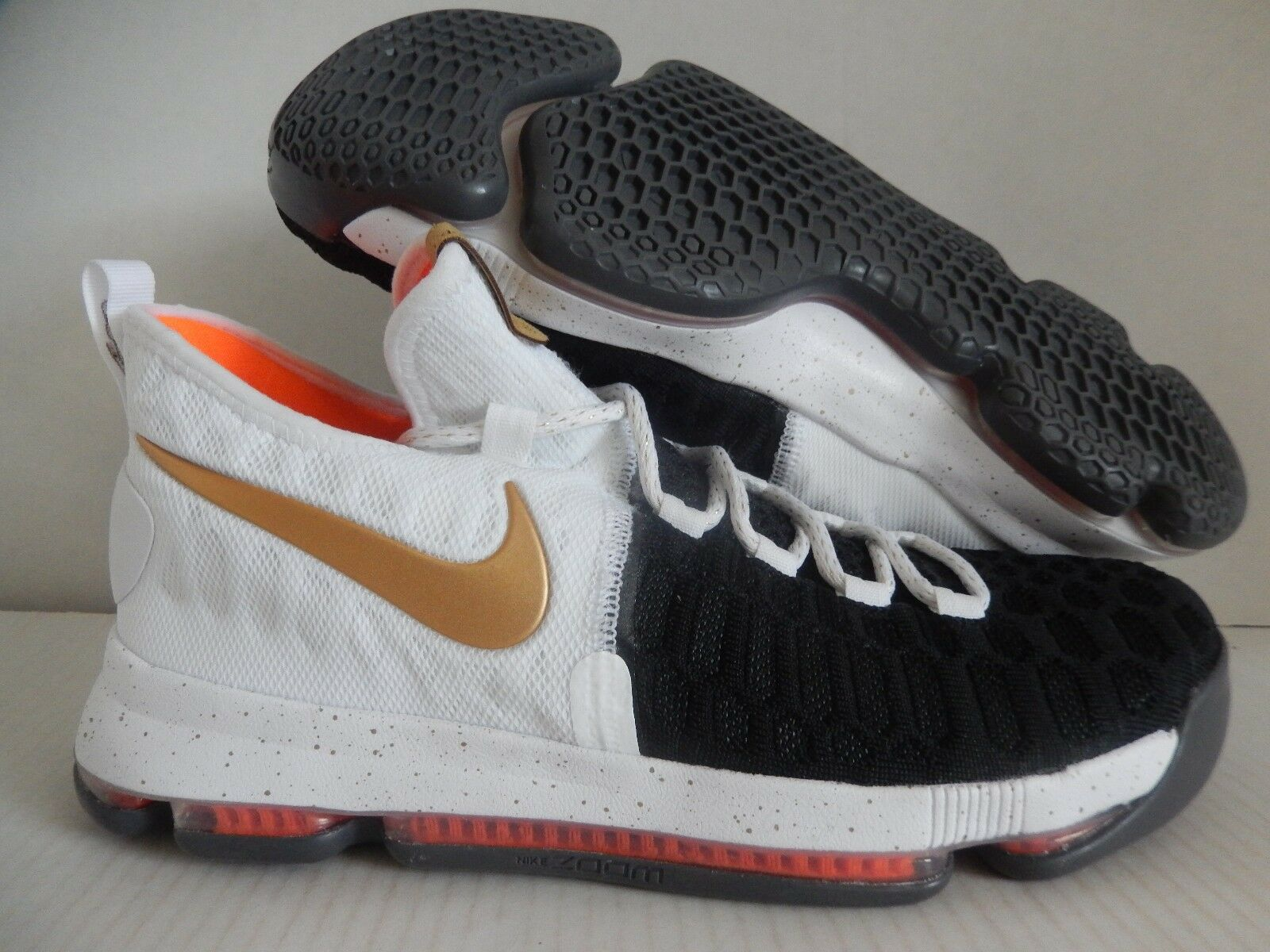 Nike kd 9 id nero-white-gold-orange [863695-991] sz 11 [863695-991] nero-white-gold-orange 1a3b5f