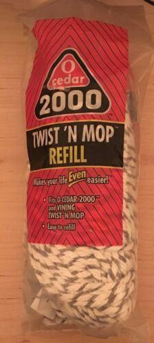 NOS O Cedar 2000 Twist N Mop Refill Replacement Self Wringing Absorbent Vining