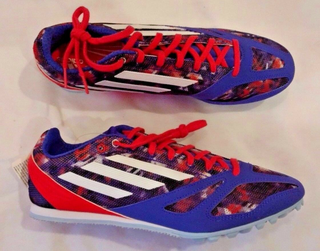 New Adidas Techstar Allround 3 Blue track Spikes 12 M29295 Cheap and beautiful fashion