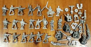 Large-Multi-listing-of-Mordian-Iron-Guard-Metal-models-Heavy-Weapons-troops-OOP